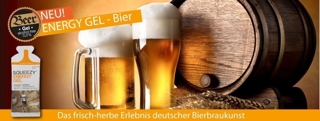 Banner SQUEEZY Bier Gel