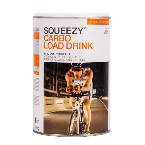 SQUEEZY Carbo Load Drink 500-g-Dose Zitrone