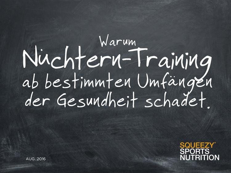 Nüchtern-Training im Sport