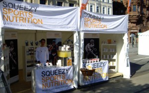 Foto Squeezy Messestand Vattenfall Cyclassics