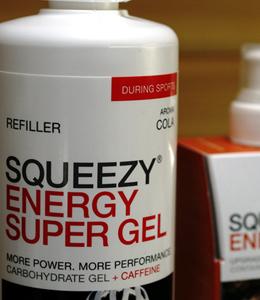 SQUEEZY ENERGY GELS