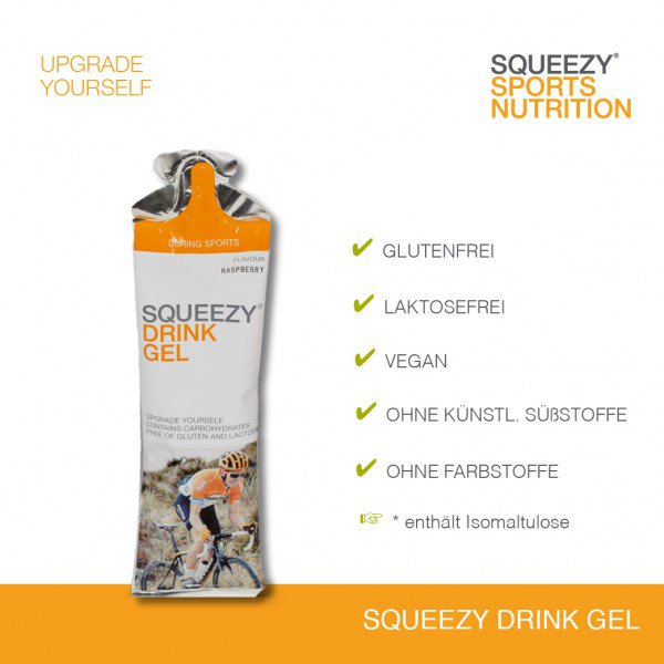 Squeezy Drink Gel