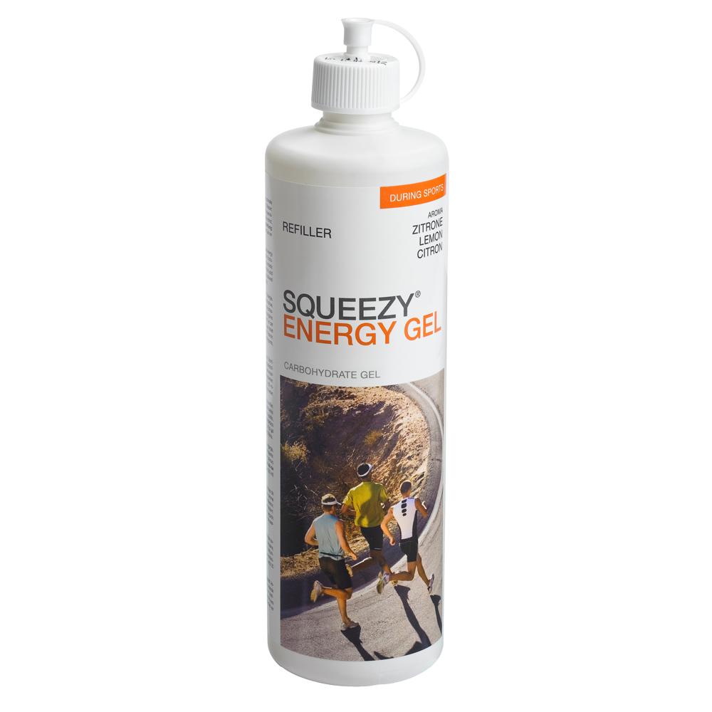 Produktabbildung: SQUEEZY ENERGY GEL Zitrone 500-ml-Flasche