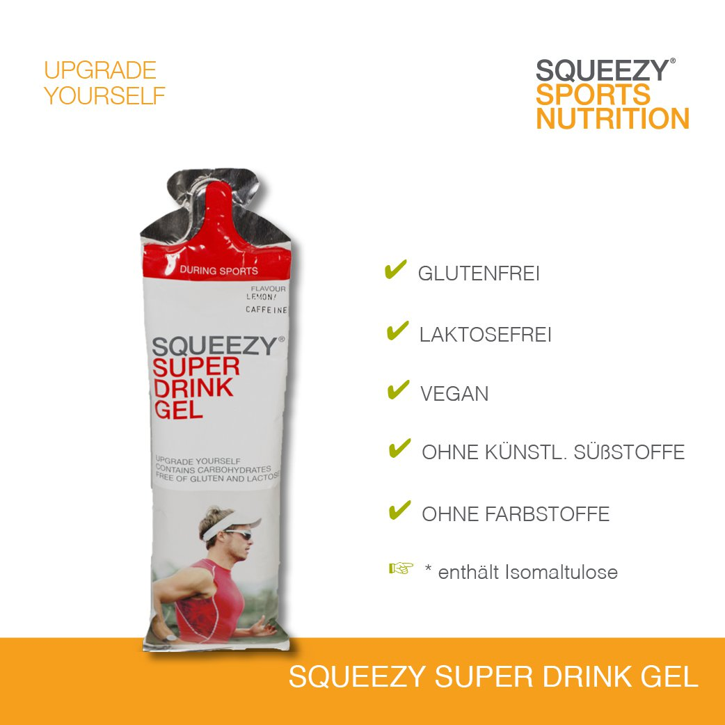 Squeezy Super Drink Gel