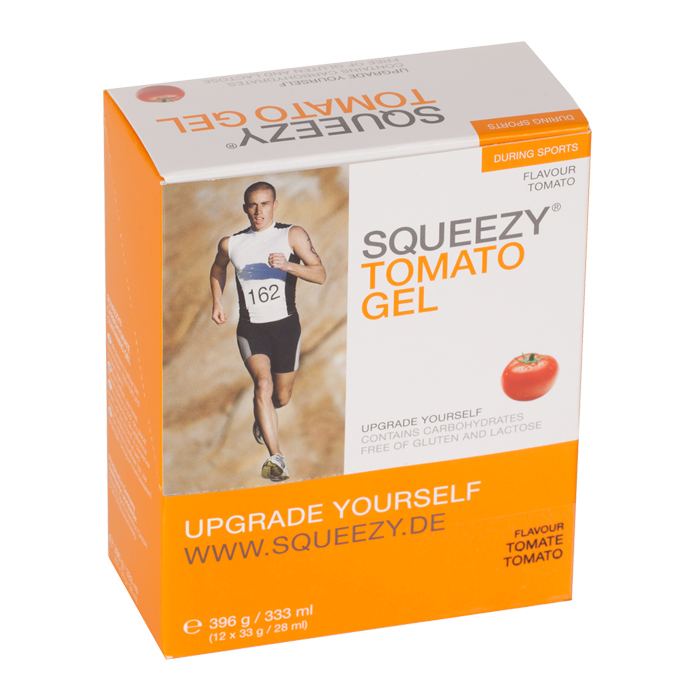 Foto Squeezy Energy Gel Box 2013