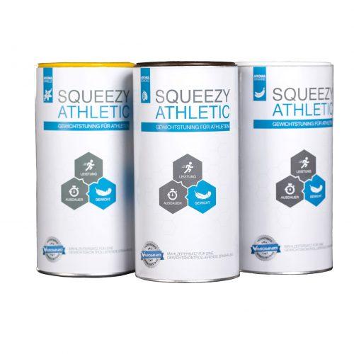 Squeezy Athletic - Geschmacksvarianten