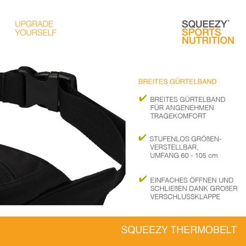 Squeezy Trinkgurt mit breitem Gürtelband