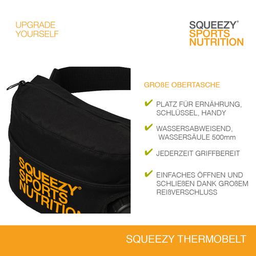 Squeezy Trinkgurt mit zusätzlicher Transporttasche