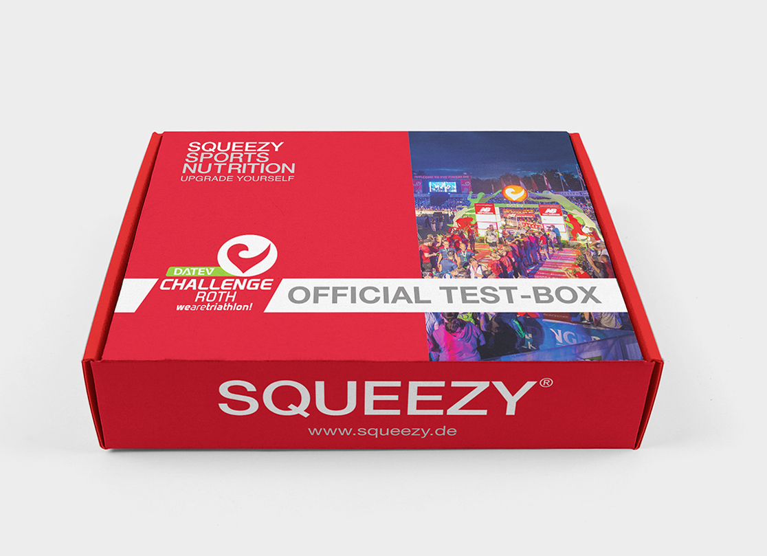 Challenge Roth 2018: Sportnahrung vom Spezialisten SQUEEZY